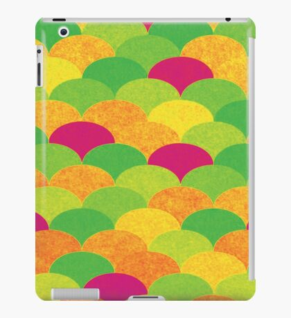 Scale pattern iPad Case/Skin