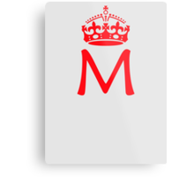 Moriarty in a crown Metal Print