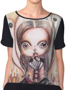 Ghost stories Chiffon Top