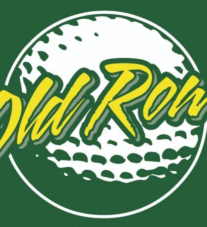 Old Row Golf Sticker