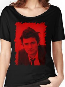 Orlando Bloom - Celebrity Women's Relaxed Fit T-Shirt