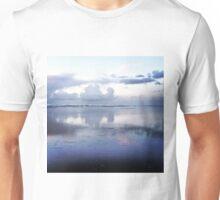 Blue Sunset on South Beach Unisex T-Shirt