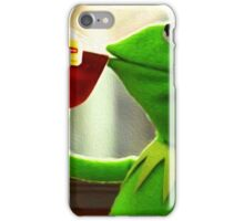 But that's none of my business Kermit iPhone Case/Skin