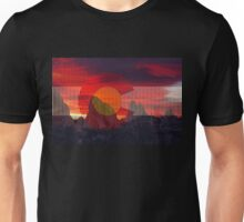 Sunrise over Colorado at Garden of the Gods Unisex T-Shirt