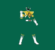 Mighty Morphin Green Power Ranger iPhone / iPad case by simplepete