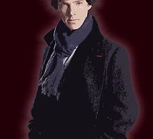 Benadryl Cumberbund as: Sherlock by GarfunkelArt