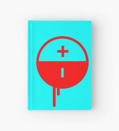 NIN3 VOLT: Sketchbook Electric Blueberry Strawberry Hardcover Journal
