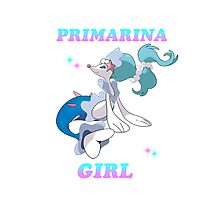 PrimaRina Girl Photographic Print