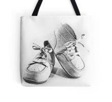 Vintage Baby Shoes Tote Bag