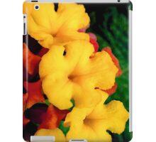 Mini macro flowers iPad Case/Skin