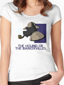 THE HOUND OF THE BARKERVILLES Women's Fitted Scoop T-Shirt