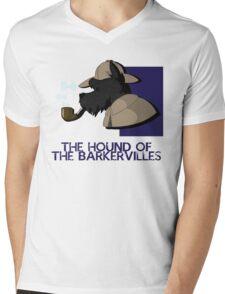 THE HOUND OF THE BARKERVILLES Mens V-Neck T-Shirt