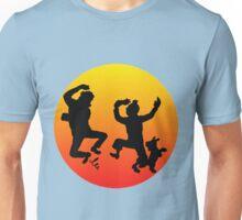 tintin sunset Unisex T-Shirt