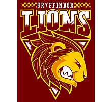 Gryffindor Lions Photographic Print