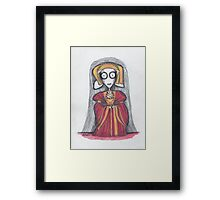 anne of cleves Framed Print