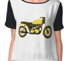 Motor bike Chiffon Top