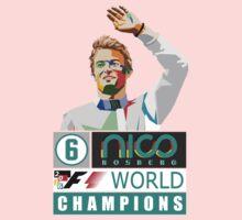 Nico F1 World Champion 2016 Baby Tee