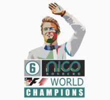 Nico F1 World Champion 2016 Kids Tee