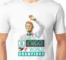 Nico F1 World Champion 2016 Unisex T-Shirt