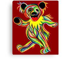 Grateful Dead - Psychedelic Bears Canvas Print