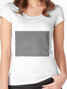 Rapid Disintegration Women's Fitted Scoop T-Shirt