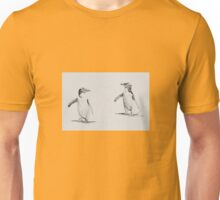Eye spy series - Y is for Yellow-eyed Penguin Unisex T-Shirt