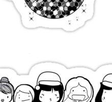 Nineth Day of Christmas Sticker