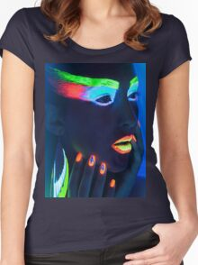 NEON WOMAN Women's Fitted Scoop T-Shirt