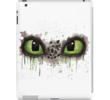 Toothless' eyes in watercolour iPad Case/Skin
