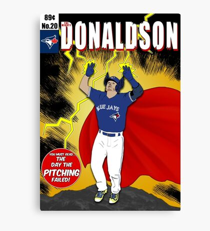 The Mighty Donaldson Canvas Print