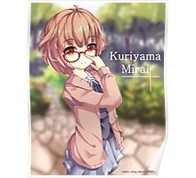 Kuriyama Mirai Poster