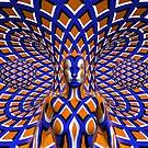 Hiding in a fifth-dimensional hallway by Beau Deeley