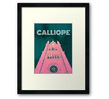 Calliope Tower Framed Print