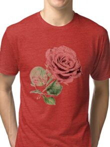 Red Rose of Love Tri-blend T-Shirt