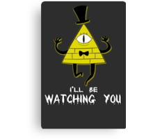 Bill Cipher Canvas Print