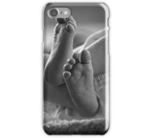 Angels brought me here iPhone Case/Skin