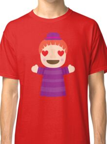 Puppet Show Emoji Heart and Love Eyes Classic T-Shirt