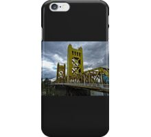 The Tower Bridge In Old Sacramento iPhone Case/Skin