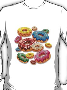 Donuts Party Time   T-Shirt