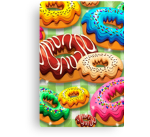 Donuts Party Time   Canvas Print