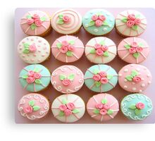 TREND OF CUPCAKES Canvas Print