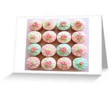 TREND OF CUPCAKES Greeting Card