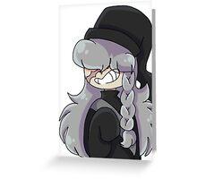 Undertaker Black Butler Greeting Card