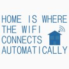 Home is where the WiFi connects automatically by CrumpetKing