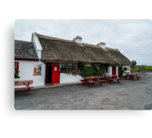 The Beach Bar, Aughris Head, Sligo, Ireland Canvas Print