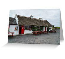The Beach Bar, Aughris Head, Sligo, Ireland Greeting Card