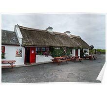 The Beach Bar, Aughris Head, Sligo, Ireland Poster