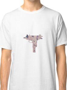 Floral Uzi Classic T-Shirt