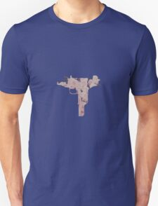 Floral Uzi Unisex T-Shirt