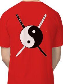 Yin Yang Dual Katana Classic T-Shirt